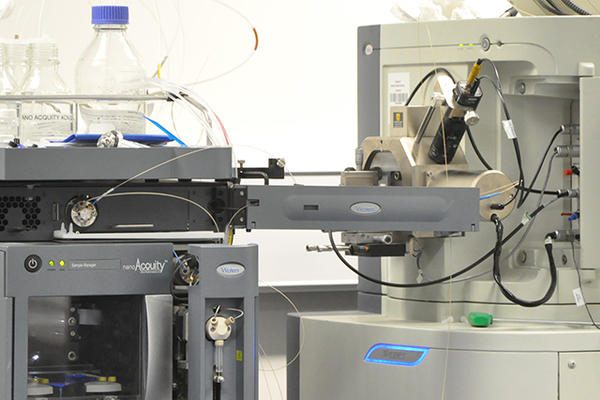 Image of an LC-MS system